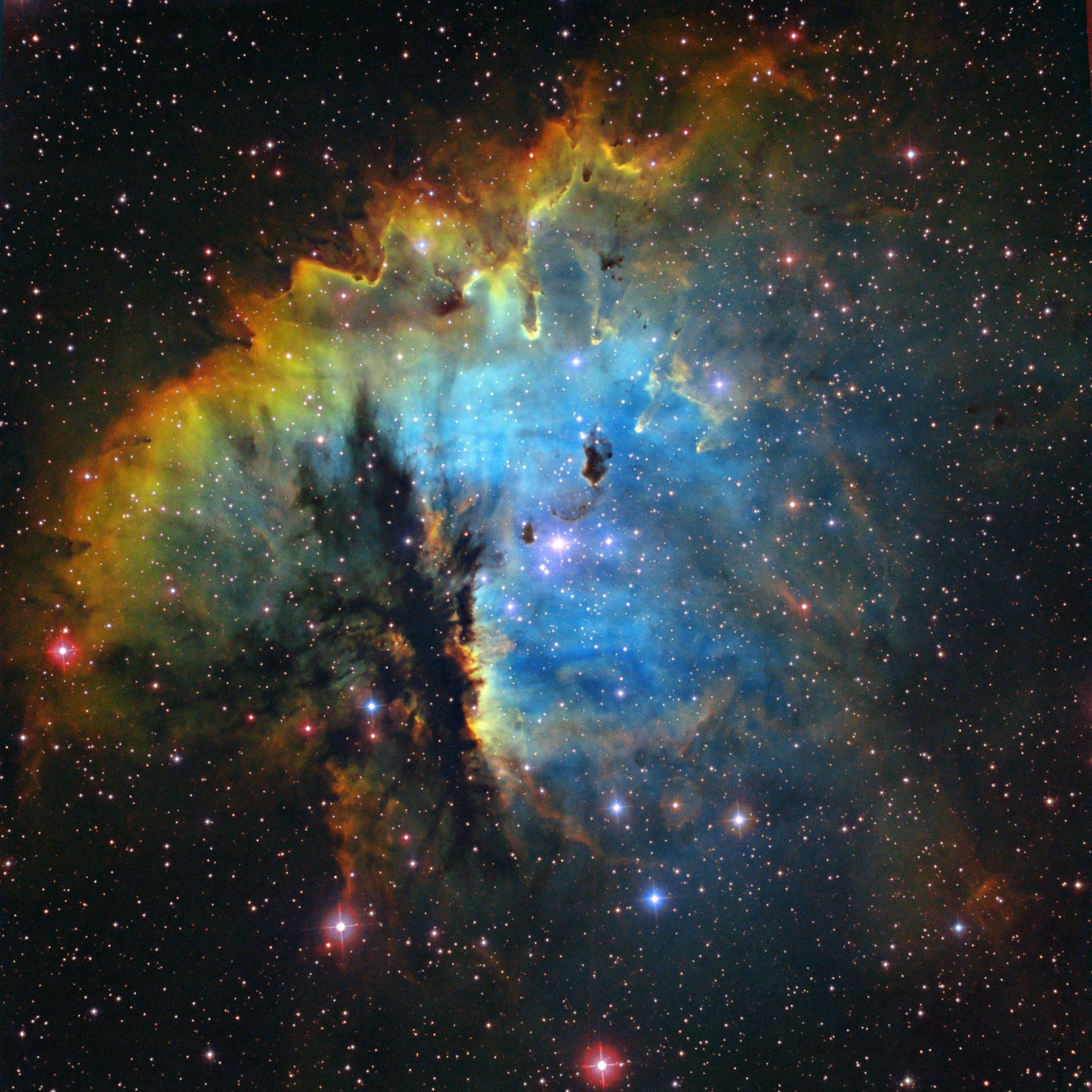 pacman nebula - photo #8